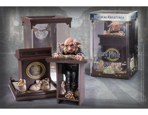 Harry Potter Creature Magiche Gringotts Goblin 19 cm Noble Collection