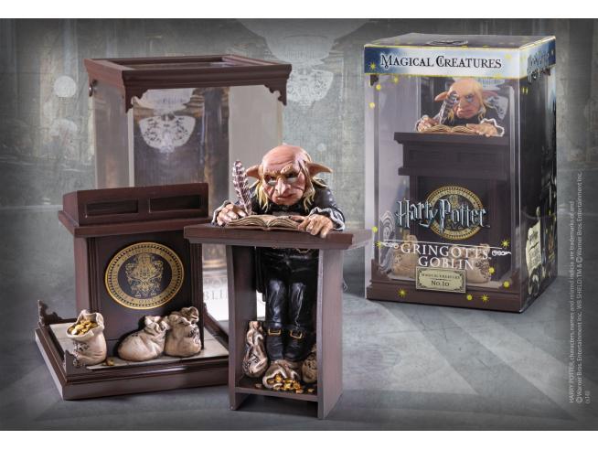 Creature Magiche Statua Goblin della Gringotts Harry Potter 18 cm Noble