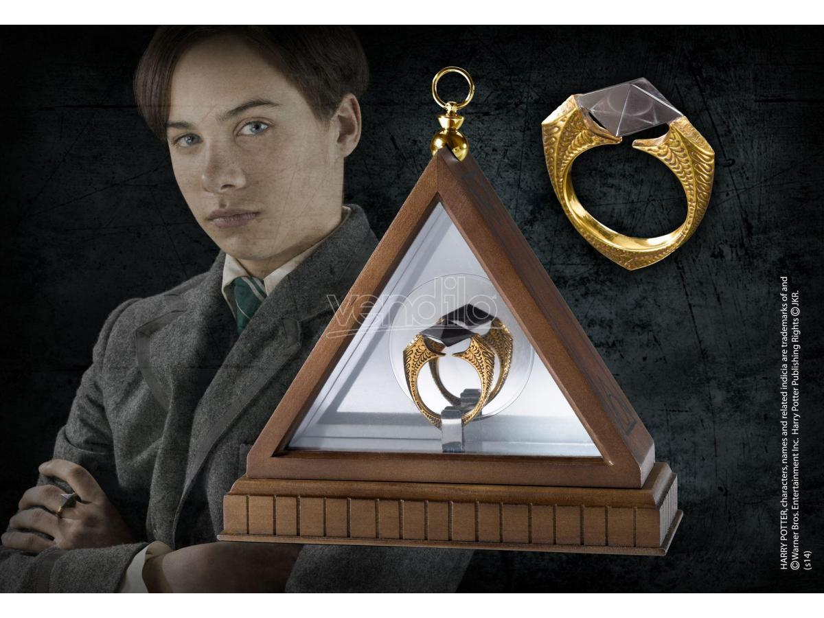 Anello Horcrux Orvoloson Gaunt Replica 1:1 Harry Potter Noble Collection