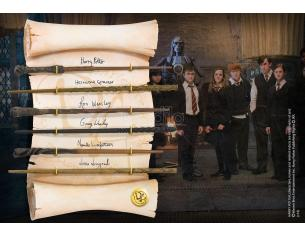 Display 6 bacchette armata di Silente Harry Potter Wand Dumbledore Army Noble