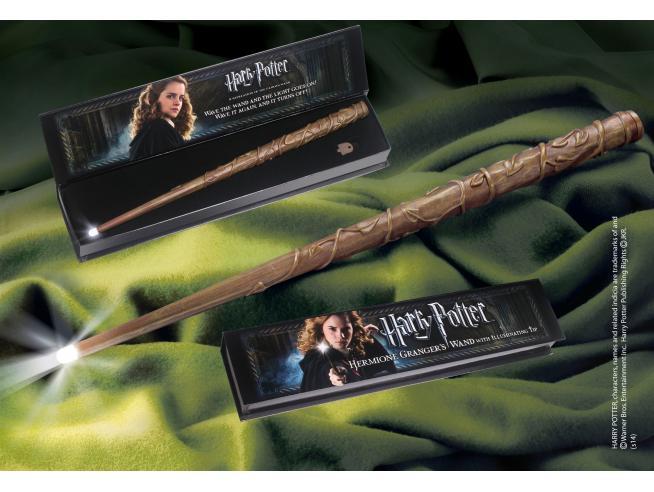Bacchetta Magica Hermione Granger Luminosa Harry Potter Noble Collection
