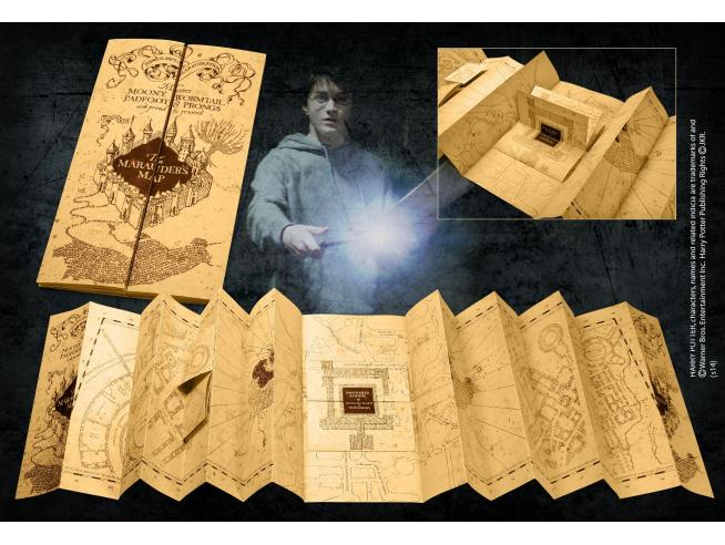 Mappa del Malandrino Replica 1:1 - Harry Potter Noble Collection
