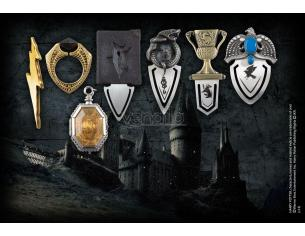 Harry Potter Set 7 Segnalibri Horcrux Collection Bookmarks Noble Collection