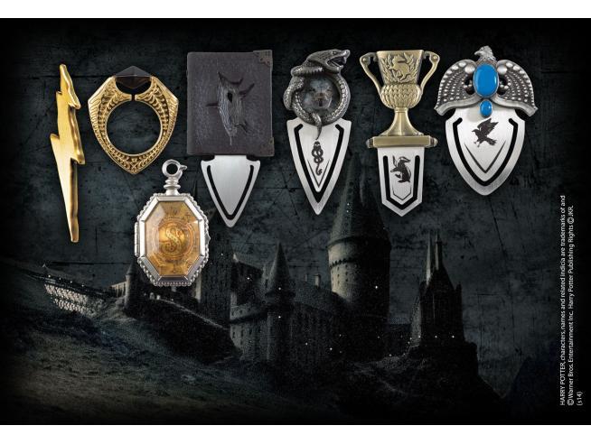 Set di Segnalibri dei 7 Horcrux di Voldemort Harry Potter Noble Collection