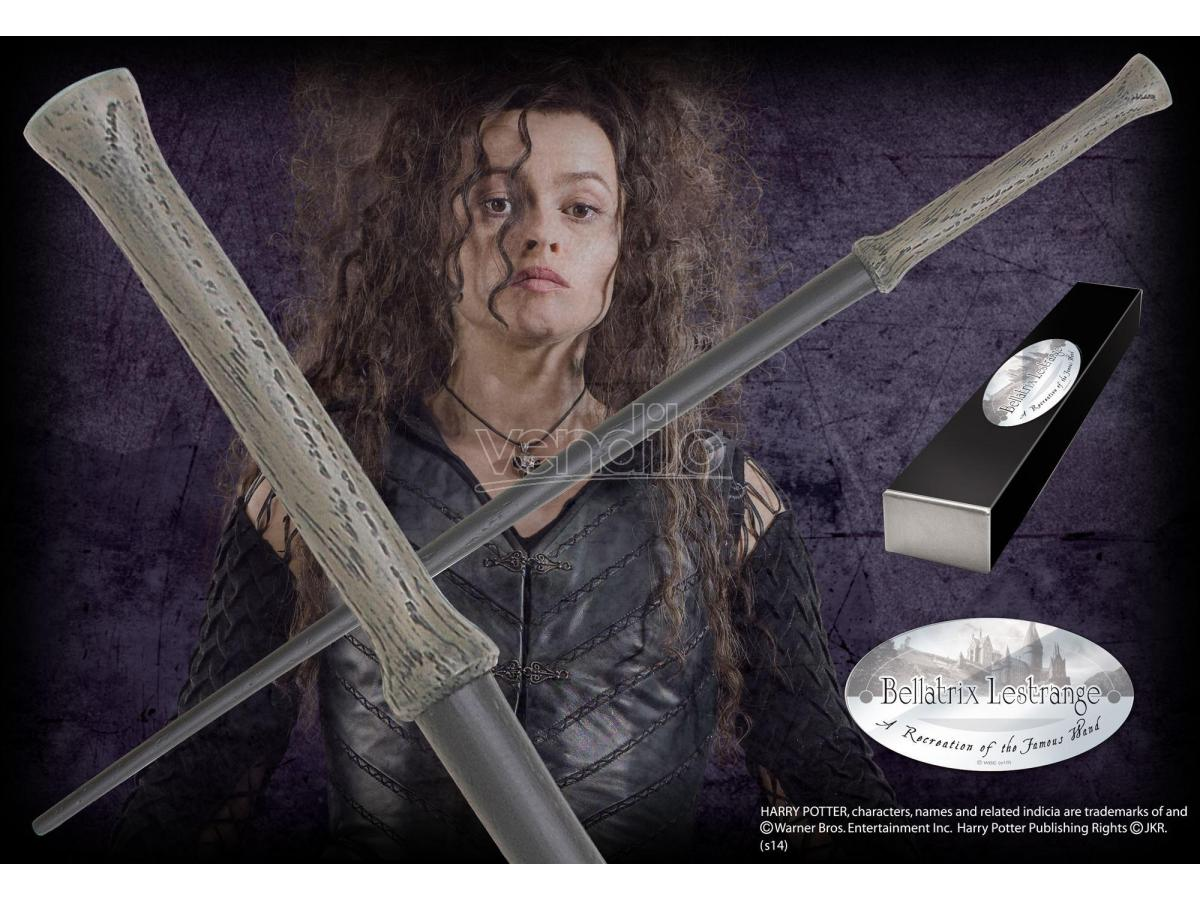 Harry Potter  Bacchetta Magica Bellatrix Lestrange  Character Noble Collection