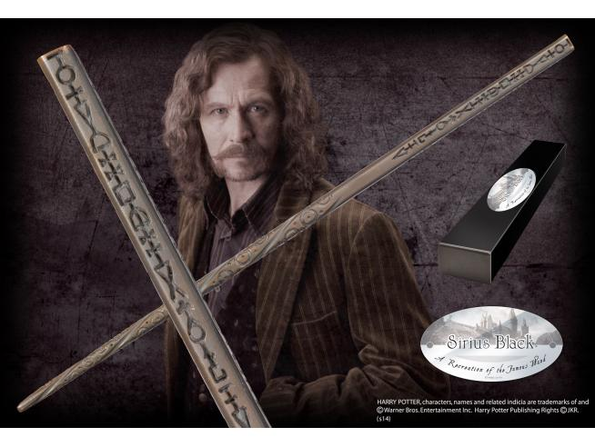 Bacchetta Magica Sirius Black Harry Potter Character Noble Collection