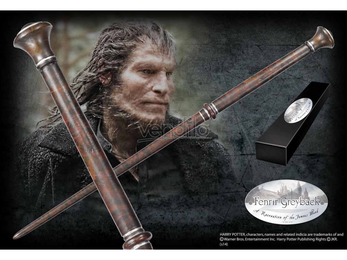 Bacchetta Magica Fenrir Greyback Harry Potter Character Noble Collection