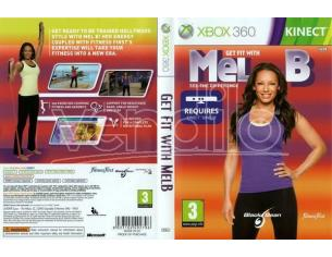 GET FIT WITH MEL B - GIOCO XBOX 360 - USATO