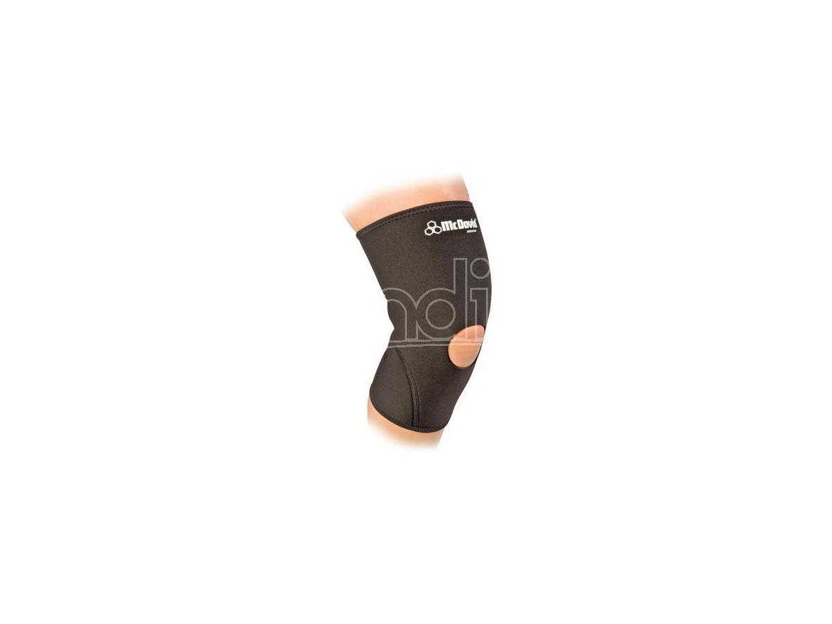 Mcdavid 402r Fascia sostegno ginocchio rotula libera Size L Neoprene Nuova