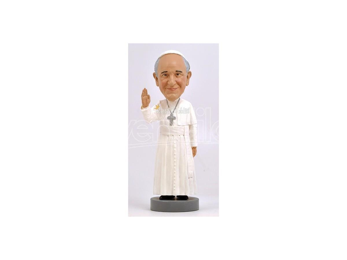 ROYAL BOBBLES POPE FRANCIS HK HEADKNOCKER