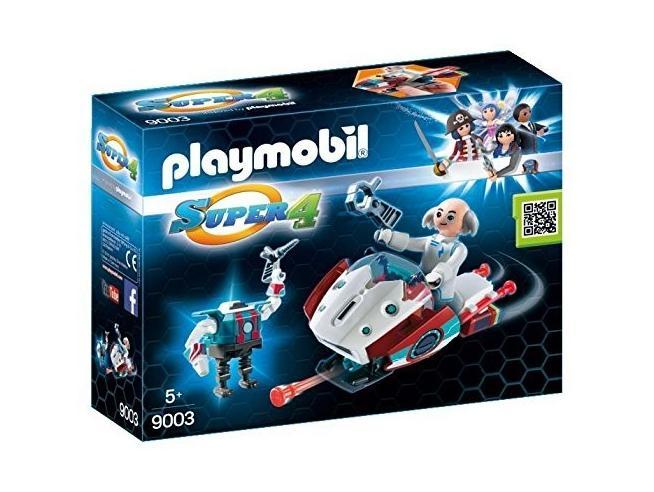 Playmobil 9003 - Skyjet con Dottor x e Robot