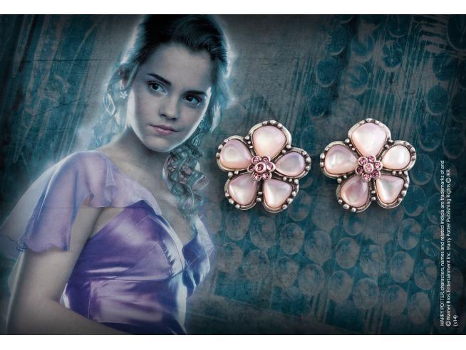 Orecchini del Ballo Scolastico Herminone Granger Harry Potter Noble Collection