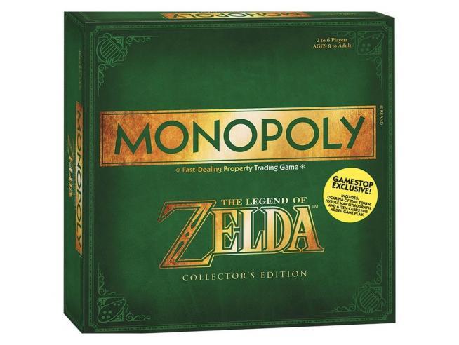 Gioco da Tavolo Monopoly Zelda Versione Italiana Winning Moves