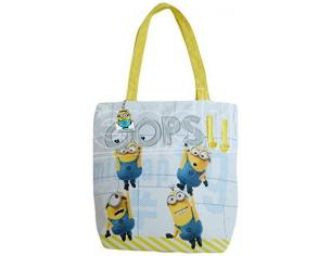 Minions Borsa Shopper bianca Oops 28x28x7 cm United Labels