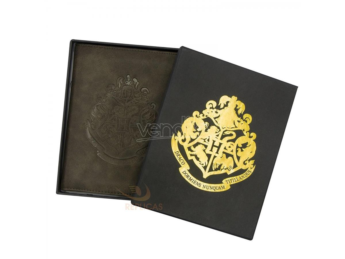 Portafoglio Porta Passaporto Hogwarts Harry Potter Noble Collection