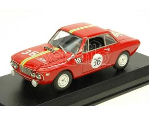 Best Model BT9650 LANCIA FULVIA 1300 HF N.36 WINNER SANREMO 1966 CELLA-LOMBARDINI 1:43 Modellino