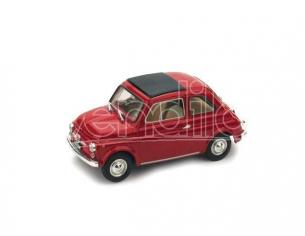 Brumm BM0455-01 FIAT 500 F 1965-72 CHIUSA ROSSO MEDIO 1:43 Modellino