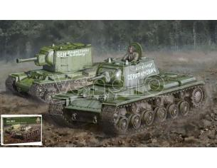 Italeri IT15763 KV-1/KV-2 KIT 1:56 Modellino