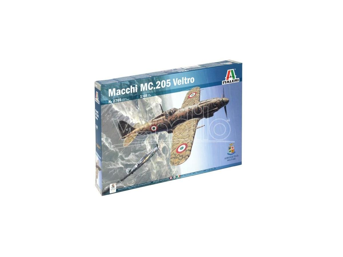 Italeri IT2765 AEREO MACCHI MC 205 VELTRO KIT 1:48 Modellino