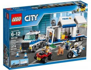 LEGO 60139 CITY CENTRO DI COMANDO MOBILE
