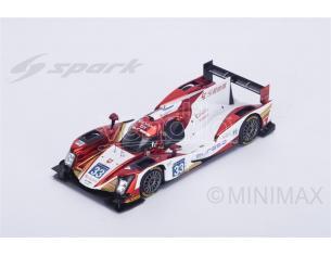 Spark Model S5116 ORECA 05 N.33 9th LM 2016 P.JUNJIN-T.GOMMENDY-N.P.DE BRUIJIN 1:43 Modellino