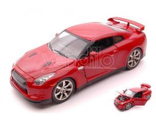Jada JADA96811R NISSAN GT-R/GT 2009 RED 1:24 Modellino