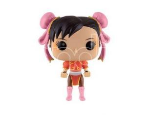 Street Fighter Funko POP Games Vinile Figura Chun-Li Vestito Rosso 9 cm
