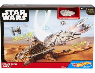 Fuga da Jakku Star Wars Episodio VII Hot Wheels Playset  Mattel Hot Wheels