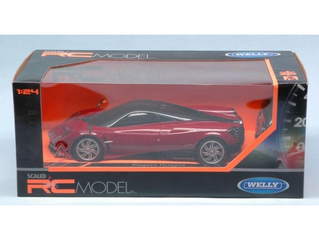Welly WE84021R PAGANI HUAYRA RADIOCOMANDO 1:24 Modellino