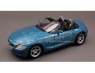 Welly WE9259 BMW Z 4 2002 BLUE 1:24 Modellino