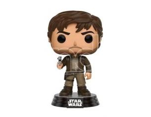 Funko Star Wars Rogue One POP! Vinyl Bobble-Head Figure Captain Cassian Brown Jacket 9 cm
