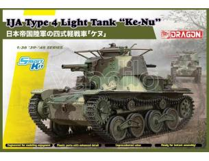 Dragon D6854 IJA TYPE 4 LIGHT TANK KE-NU KIT 1:35 Modellino