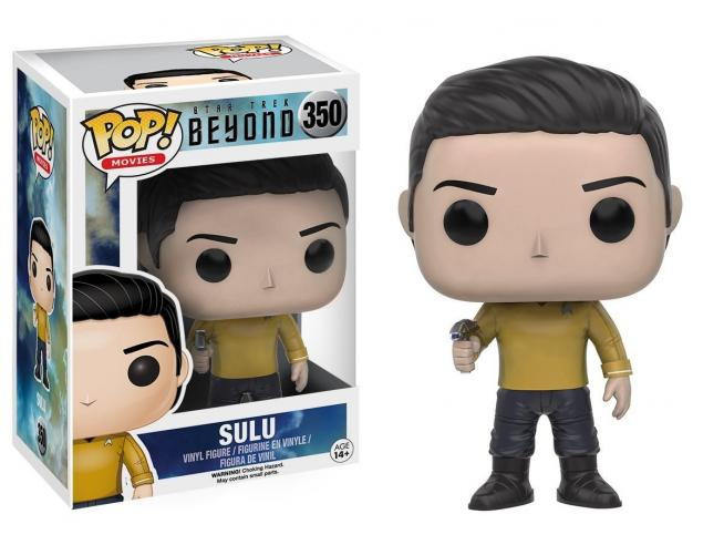 Funko Star Trek Beyond POP Movies Vinile Figura Sulu 9 cm