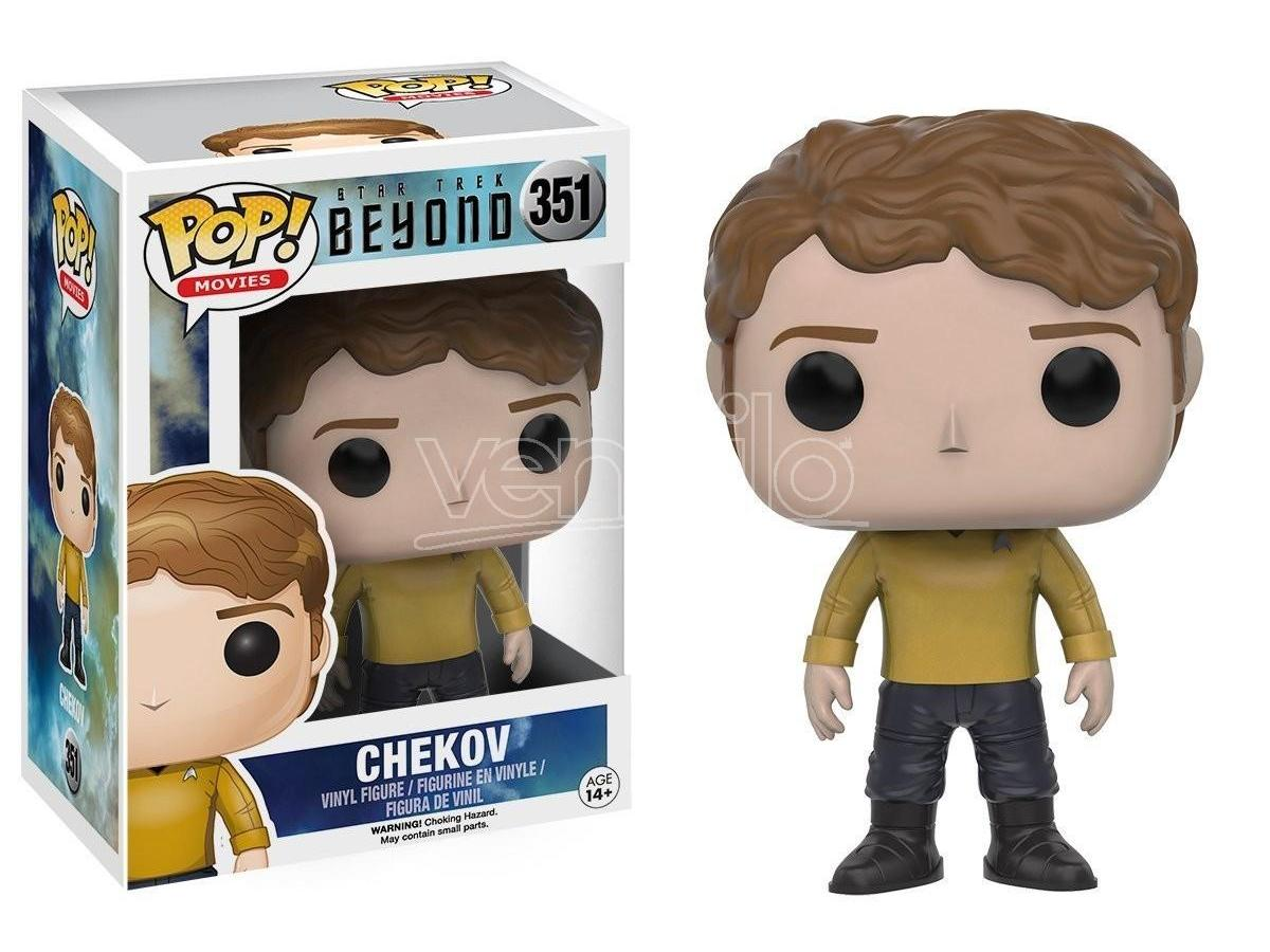 Funko Star Trek Beyond POP Movies Vinile Figura Chekov 9 cm