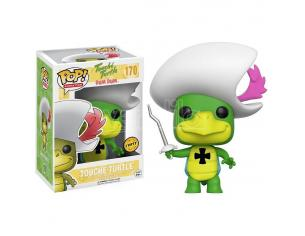 Funko Hanna-Barbera POP Animation Vinile Figura Touche Turtle 9 cm CHASE