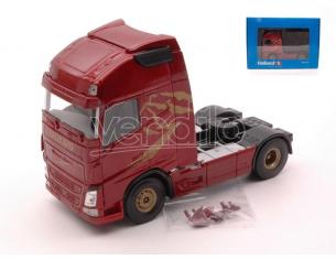 HOLLAND OTO UH2007 VOLVO FH GLOBETROTTER XL EURO 6 CAB WINE RED METALLIC 1:50 Modellino