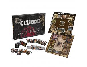 Gioco da Tavolo Cluedo Games of Thrones Versione Inglese Winning Moves