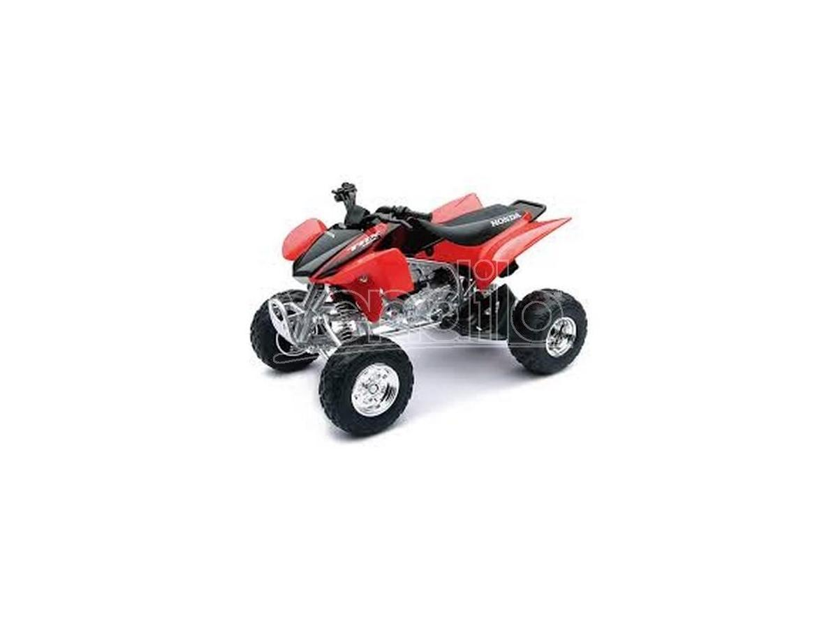 New Ray NY42833H HONDA TRX450R QUAD ROSSO JAPAN 1:12 Pz.12 Moto
