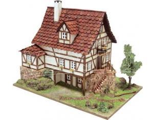 Domus Kits 40955 Architettura Popolare Freiburg (Cottage) 1:60 Kit Modellino