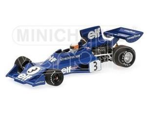 MINICHAMPS 400740003 TYRRELL FORD 007  SCHECKTER WINNER SWEDISH GP 1974 Danneggiata