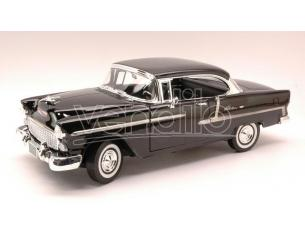 Motormax MTM73185BK CHEVY BEL AIR 1955 BLACK 1:18 Modellino