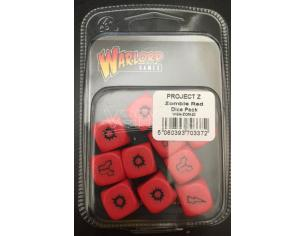 WARLORD GAMES PROJECT Z ZOMBIE RED DICE PACK ACCESSORI