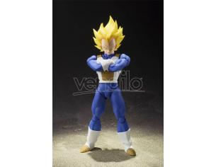 Bandai Dragon Ball Z Super Saiyan Vegeta Figuarts Tamashii Action Figure