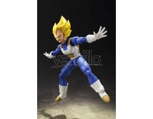 Bandai Dragon Ball Z Super Saiyan Vegeta Figuarts Tamashii Action Figure