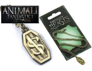 CARAT FANTASTIC BEASTS SCAMANDER NECKLACE COLLANA