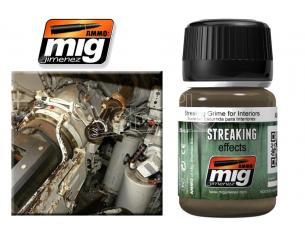 AMMO BY MIG JIMENEZ STREAKING GRIME FOR INTERIORS A.MIG-1200 COLORI