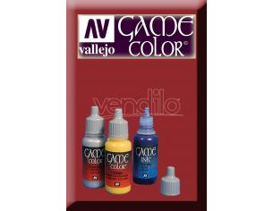 VALLEJO GAME COLOR HEAVY RED EXOPAQ 72141 COLORI