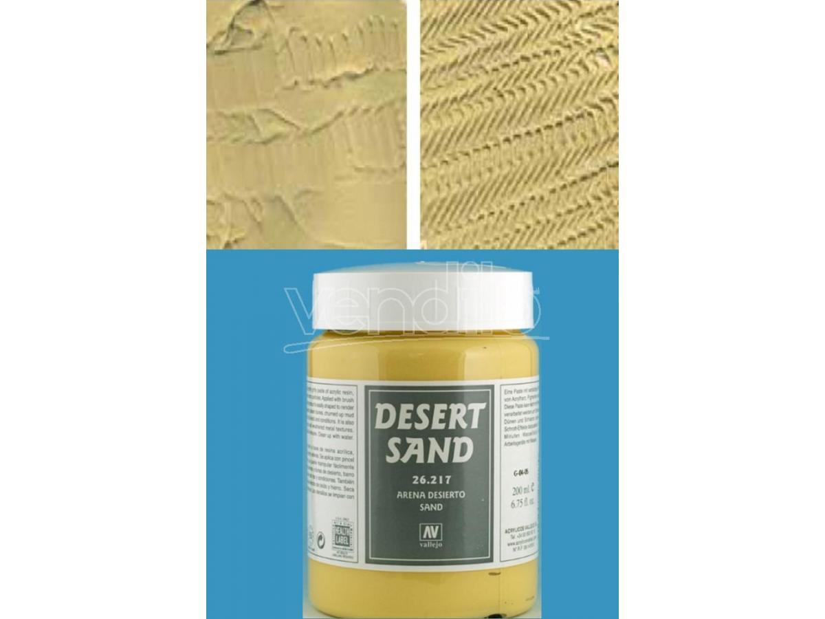 VALLEJO VALLEJO TEXTURE DESERT SAND26217 COLORI