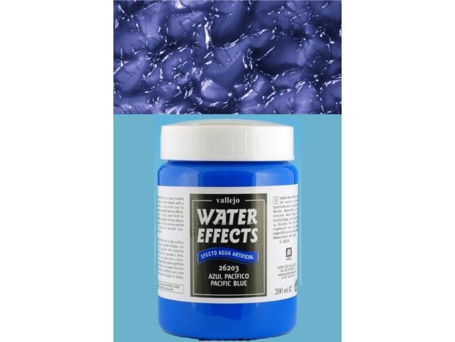VALLEJO VALLEJO TEXTURE PACIFIC BLUE WATER 26203 COLORI