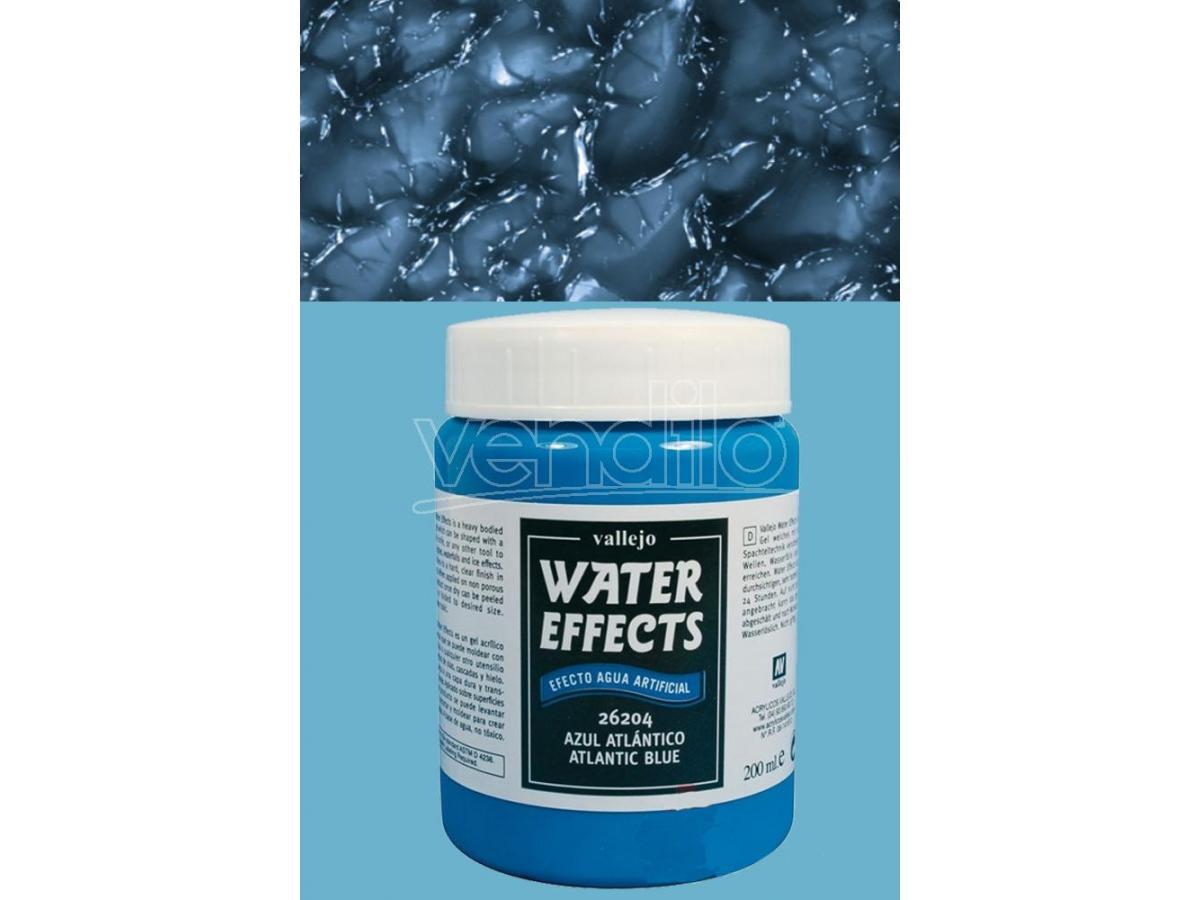 VALLEJO VALLEJO TEXTURE ATLANTIC BLUE WATER26204 COLORI
